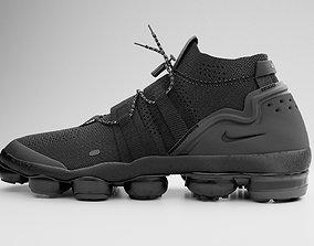 3D Nike Vapormax Utility Triple Black