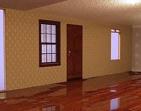 3D model Floor wood