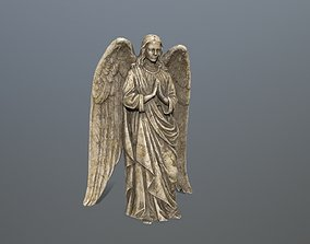 3D model Angel Statue 4