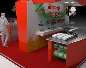 3D model Bakery fair