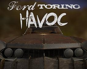 3D asset Ford Torino Havoc
