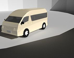 Toyota hiace 3D asset