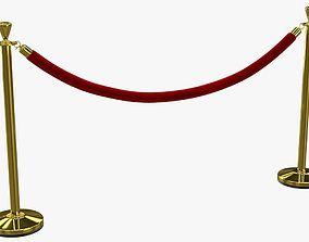 Velvet Rope 3D
