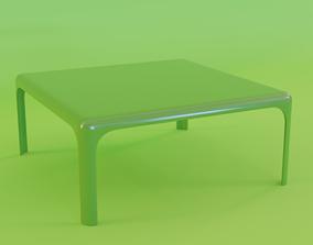 Coffee table Artemide Demetrio 70 3D