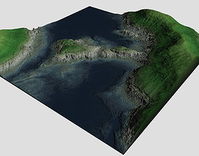 Detailed Coast Model low-poly