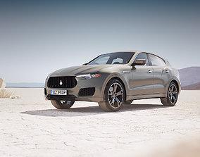 Luxury SUV unbranded luxury 3D