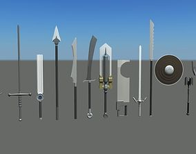 Weapon Collection 3D asset
