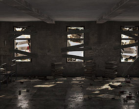 Abandoned building pro 3D model