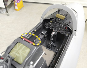 Hawker Hunter Cockpit Parts 3D print model