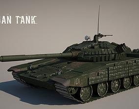 T-72 Russian Tank 3D