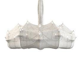 designer 3D model Flos Zeppelin spider web chandelier