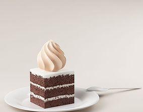 3D model Cake 02