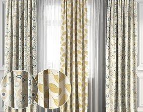 Curtain Set 118 3D