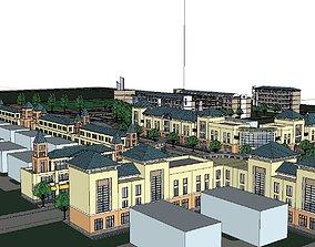 3D Region-City-School 03