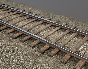3D model Old Railway
