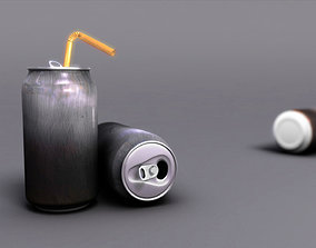 3D model Empty Soda Can