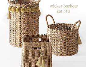 3D Serena and Lily Big Sur Baskets