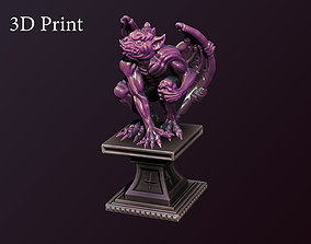 3dprint 3D printable model Gargoyle