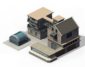 3D model Future World - Factory 02
