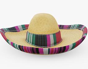 Sombrero 3D model realtime