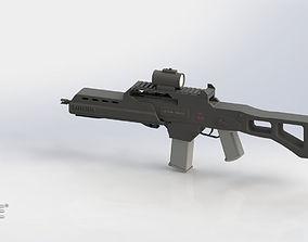 3D printable model Heckler And Koch G36 Sniper solidworks