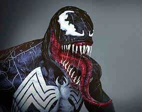 Venom 3D model game-ready