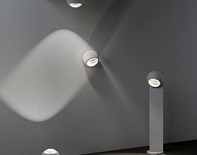 3D model Occhio Sito Outdoor Lamps