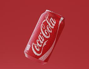 Coca Cola Can 3D model realtime