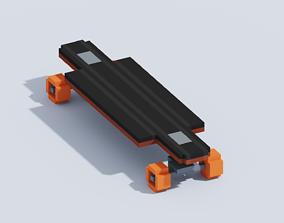 3D model VOXEL SKATEBOARD T2