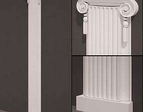 Pilaster antique type 6 3D