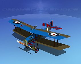 RAF SE-5A Fighter V10 3D model