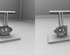 Machine Door 3D Model