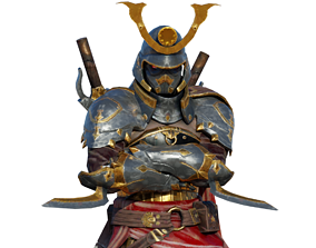 3D asset Kalkin character 2in1