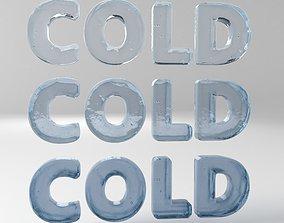 Cold Text 3D model