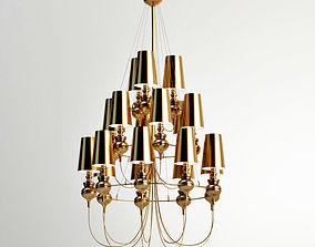 light 3D Josephine Queen 9 63 Chandelier metalarte