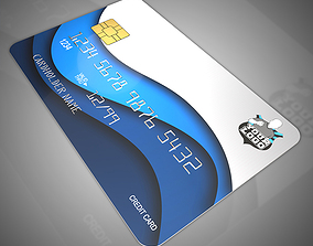 Bank cards 3D