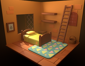 Cozy Room house 3D
