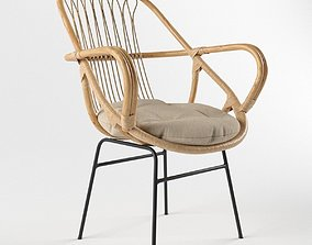 3D The Family Love Tree Sling Back Chair Natural
