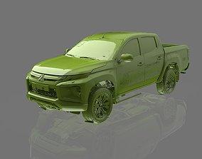 Mitsubishi L200 DC Native Exterior 3D Scan