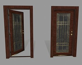 3D asset game-ready door 2