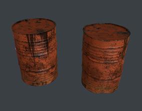 3D model realtime Barrels