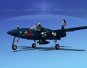 Grumman F7F Tigercat V11 3D model
