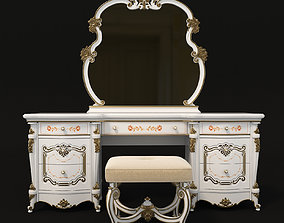 3D Classic Dressing Table 3