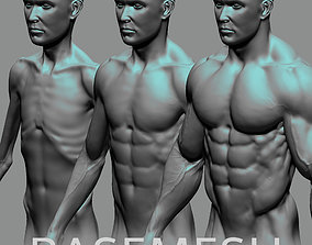 Male Basemesh ZBRUSH 3D