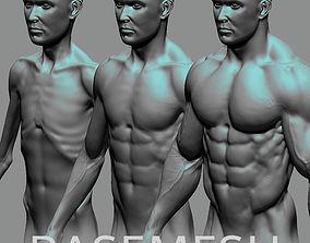 3D model Male Basemesh ZBRUSH