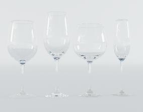 Wine Glasses 3D PBR