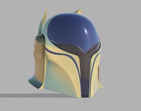 3D printable model Ancient Mando Custom Helmet