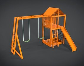Playground Set 4 3D asset VR / AR ready