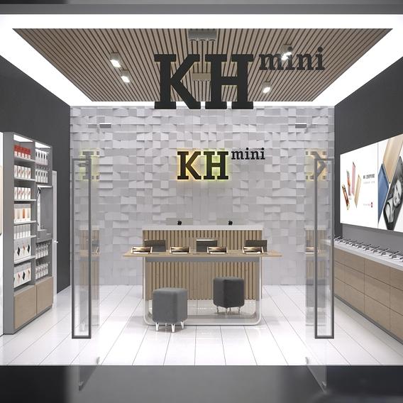 Retail design - mobile electronics store