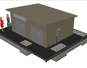 3D Transformer station